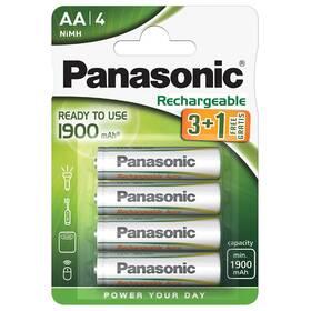 Panasonic Evolta AA, HR06, 1900mAh, Ni-MH, blistr 4ks
