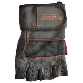 Fitness rukavice LIFEFIT Fitnes velikost XL čierne