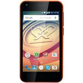 Prestigio Wize L3 Dual SIM (PSP3403DUOORANGE) oranžový Software F-Secure SAFE 6 měsíců pro 3 zařízení (zdarma)