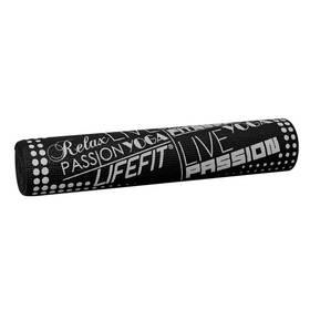 LIFEFIT SLIMFIT PLUS, 173x61x0,6cm černá