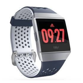 Fitbit Ionic Adidas Edition - Ink Blue & Ice Gray/Silver Gray (FB503WTNV)