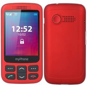 myPhone Halo S Senior (TELMYSHALOSRE) červený