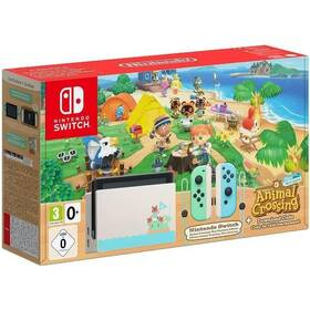 Nintendo Switch s Joy-Con v2 - Animal Crossing bundle (NSH012)