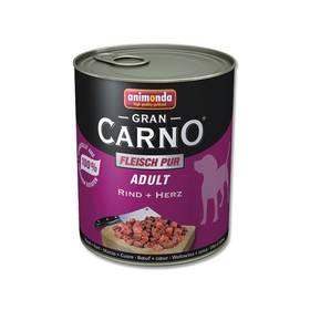 Animonda Adult Gran Carno Plus hovězí + srdce 800g