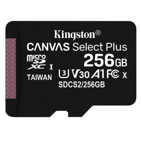 Kingston Canvas Select Plus MicroSDXC 256GB UHS-I U1 (100R/85W) (SDCS2/256GBSP)
