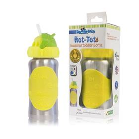 Pacific Baby Hot-Tot s brčkem 260 ml žlutá + Doprava zdarma