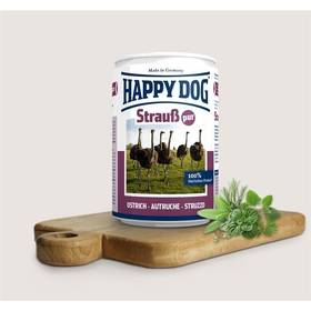 HAPPY DOG Strauß Pur - 100% pštrosí maso 400 g