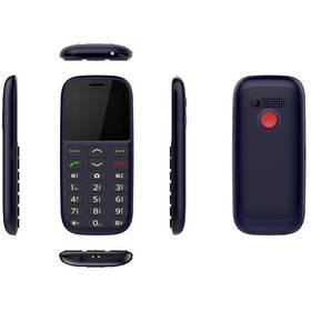 CUBE 1 F100 Dual SIM (F100) černý/modrý
