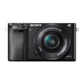 Sony Alpha A6000 + 16-50mm černý Paměťová karta Kingston MicroSDHC 32GB UHS-I U1 (45MB/s) + adaptér (zdarma) + Doprava zdarma
