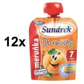 Sunárek Do ručičky meruňka, 90g x 12ks