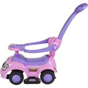 Sun Baby s vodící tyčí růžové/fialové + Doprava zdarma