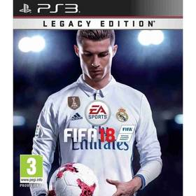 EA PlayStation 3 FIFA 18 (Legacy Edition) Předobjednávka_29. 09. 2017 (EAP318120)