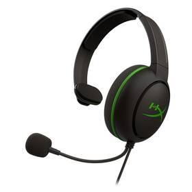 HyperX CloudX Chat pro Xbox (HX-HSCCHX-BK/WW) černý/zelený (vrácené zboží 8800563766)