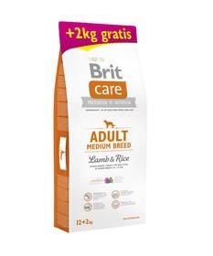 Brit Care Adult Medium Breed Lamb & Rice 12 + 2 kg ZDARMA