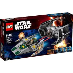 Lego® Star Wars TM 75150 Vader's TIE Advanced vs. A-Wing Starfighter + Doprava zdarma