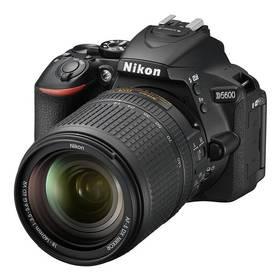 Nikon D5600 + 18-140 AF-S VR (VBA500K002) černý + Cashback 2600 Kč + Doprava zdarma