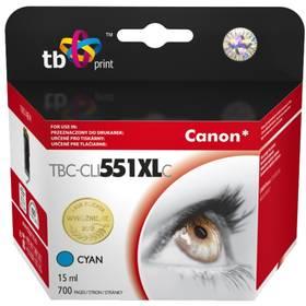 TB Canon CLI-551XL - kompatibilní (TBC-CLI551XLC) modrá