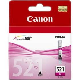 Canon CLI-521M, 510 stran - originální (2935B001) růžová