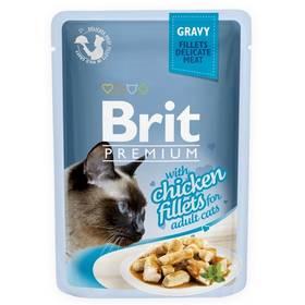 Brit Premium Cat D Fillets in Gravy With Chicken 85 g