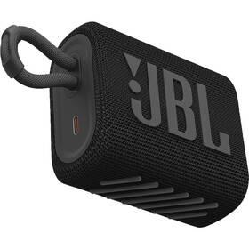 JBL GO3 čierny