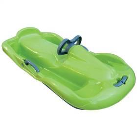 Rulyt FUNKY s volantem zelené + Reflexní sada 2 SportTeam (pásek, přívěsek, samolepky) - zelené v hodnotě 58 Kč