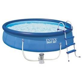Intex Easy Set 4,57x1,07 m, kartušová filtrace 3,4 m3/h + Doprava zdarma