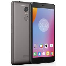 Lenovo K6 Note Dual SIM (PA570070CZ) šedý SIM s kreditem T-Mobile 200Kč Twist Online Internet (zdarma)Software F-Secure SAFE 6 měsíců pro 3 zařízení (zdarma) + Doprava zdarma