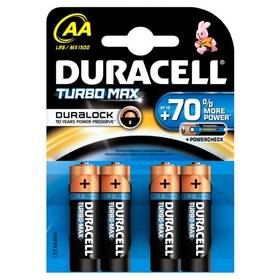Duracell Turbo AA, LR06, blistr 4ks
