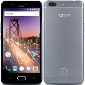 myPhone City XL (TELMYACITYXLSI) stříbrný