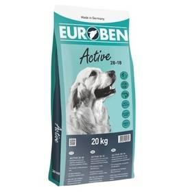 EUROBEN Active 28-18 / 20 kg + Antiparazitní obojek za zvýhodněnou cenu + Doprava zdarma