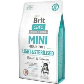 Brit Care Dog Mini Grain Free Light & Sterilised 2 kg