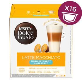 NESCAFÉ Dolce Gusto® Latte Macchiato Unsweetened kávové kapsle 16 ks