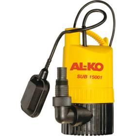 AL-KO SUB 15001/15000 černé/žluté