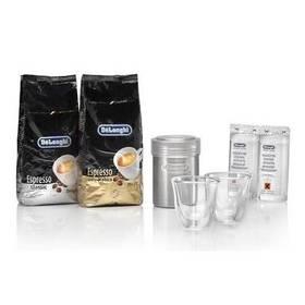 Balíček DeLonghi Essential pack káva + příslušenství