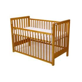 For Baby Věra stahovací bok buk Matrace do postýlky For Baby 120x60 cm - bílá (zdarma) + Doprava zdarma