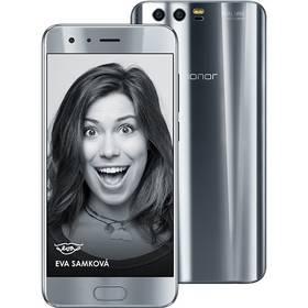 Honor 9 Dual SIM 64 GB (51091TBF) stříbrný Fitness náramek Honor Band 3 - černý (zdarma) + Doprava zdarma