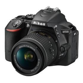 Nikon D5500 + AF-P 18-55 VR černý + Doprava zdarma