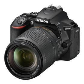 Nikon D5600 + 18-140 AF-S VR (VBA500K002) černý + Cashback 2500 Kč + Doprava zdarma