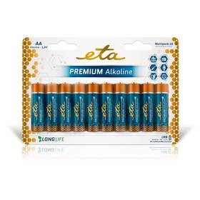 ETA PREMIUM ALKALINE AA, LR06, blistr 10ks (R06PREM10)