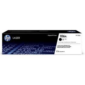 Toner HP 106A, 1000 stran (W1106A) černý (poškozený obal 3000009980)