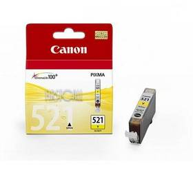 Canon CLI-521Y, 530 stran - originální (2936B001) žltá