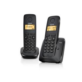 Domácí telefon Siemens Gigaset A120 duo (L36852-H2401-R601) černý