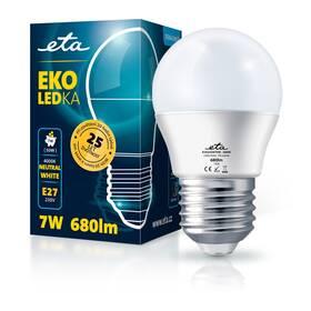 ETA EKO LEDka mini globe 7W, E27, neutrální bílá (G45W7NW)