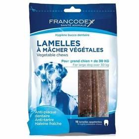 Francodex Weggy žvýkací plátky L pes 490g 15 ks