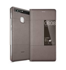 Huawei Smart Cover pro P9 (51991511) hnědé + Doprava zdarma