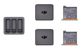 DJI pro Osmo Action, nabíječka + 2 baterie (DJI0630-02)