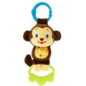 Bright Starts Hračka Briht Starts Tug Tunes s melodií Opice