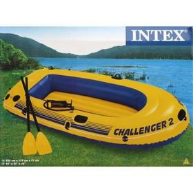 Intex Challenger 2 set modrý/žlutý