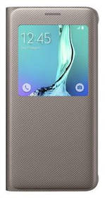 Samsung S-View pro Galaxy S6 Edge+ (EF-CG928P) (EF-CG928PFEGWW) zlaté