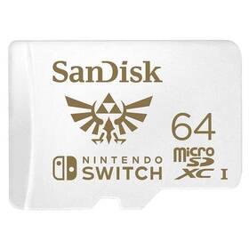 Sandisk Micro SDXC 64GB UHS-I U3 (V30) pro Nintendo Switch (100R/60W) (SDSQXAT-064G-GNCZN)